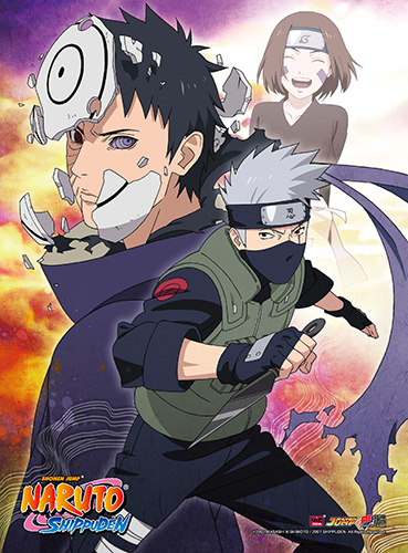 Naruto Shippuden - Kakashi High-End Wall Scroll, an officially licensed product in our Naruto Shippuden Wall Scroll Posters department.