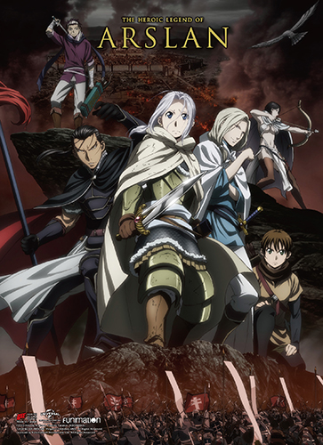 Heroic Legend Of Arslan - Key Art 01 High-End Wall Scroll officially licensed Heroic Legend Of Arslan Wall Scroll Posters product at B.A. Toys.