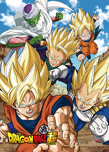 Dragon Ball Super - Battle Of Gods Group 01 High-End Wall Scroll, an officially licensed product in our Dragon Ball Super Wall Scroll Posters department.