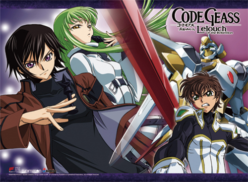 Code Geass - Group 1 High-End Wall Scroll, an officially licensed product in our Code Geass Wall Scroll Posters department.