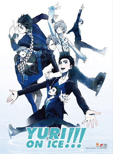 Yuri!!! On Ice - Key Art Hi-End Wall Scroll, an officially licensed product in our Yuri!!! On Ice Wall Scroll Posters department.