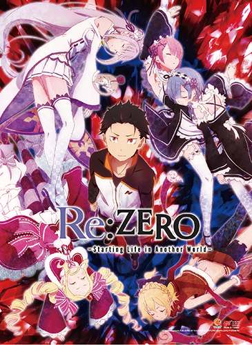 Re:Zero - Key Art High-End Wall Scroll, an officially licensed product in our Re-Zero Wall Scroll Posters department.