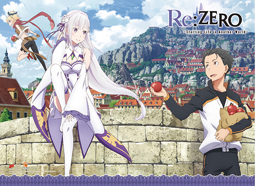 Re:Zero - Trio High-End Wall Scroll, an officially licensed product in our Re-Zero Wall Scroll Posters department.