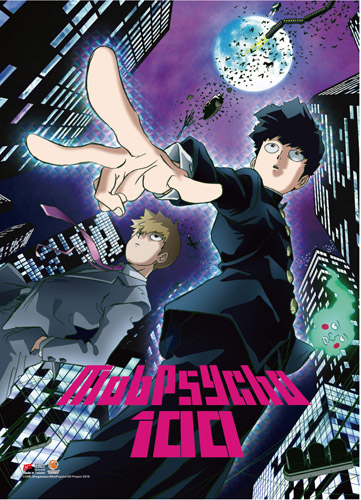 Mob Psycho 100 - Key Art 1 High-End Wall Scroll, an officially licensed product in our Mob Psycho 100 Wall Scroll Posters department.