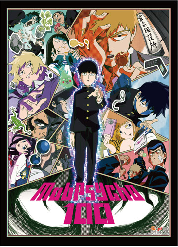 Mob Psycho 100 - Key Art 2 High-End Wall Scroll, an officially licensed product in our Mob Psycho 100 Wall Scroll Posters department.