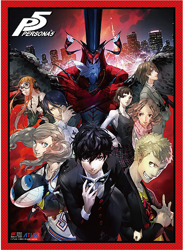 Persona 5 - Key Art High-End Wall Scroll, an officially licensed product in our Persona Wall Scroll Posters department.