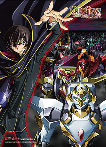 Code Geass S2 - Key Art 2 High-End Wall Scroll, an officially licensed product in our Code Geass Wall Scroll Posters department.