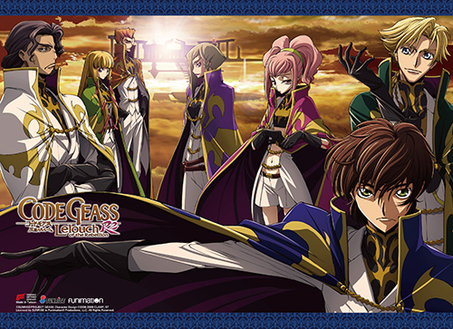 Code Geass S2 - Britannian Military Group High-End Wall Scroll, an officially licensed product in our Code Geass Wall Scroll Posters department.