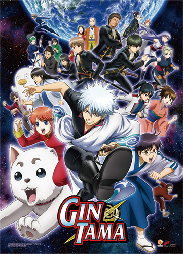 Gintama S3 - Key Art High-End Wall Scroll, an officially licensed product in our Gintama Wall Scroll Posters department.