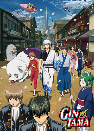 Gintama S3 - Key Art 2 High-End Wall Scroll, an officially licensed product in our Gintama Wall Scroll Posters department.