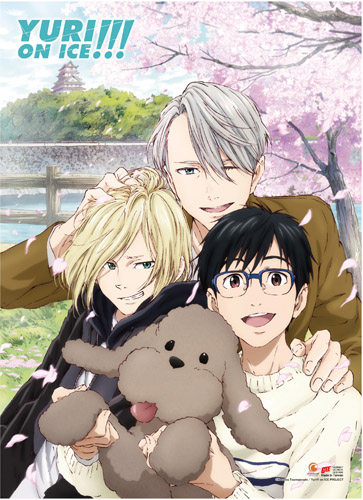 Yuri On Ice!!! - Spring Sakura High-End Wall Scroll, an officially licensed product in our Yuri!!! On Ice Wall Scroll Posters department.