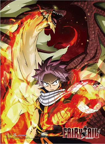 Fairy Tail - S7 Key Art High-End Wall Scroll, an officially licensed product in our Fairy Tail Wall Scroll Posters department.