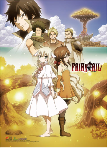 Fairy Tail - S8 Key Art High-End Wall Scroll, an officially licensed product in our Fairy Tail Wall Scroll Posters department.