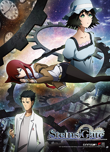 Steins;Gate - Key Art High-End Wall Scroll, an officially licensed product in our Stein;S Gate Wall Scroll Posters department.