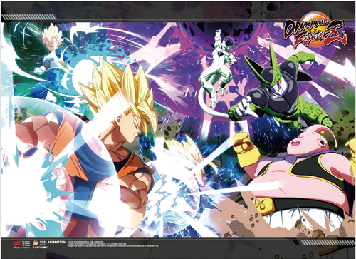 Dragon Ball Fighterz - Key Art High-End Wall Scroll, an officially licensed product in our Dragon Ball Fighter Z Wall Scroll Posters department.