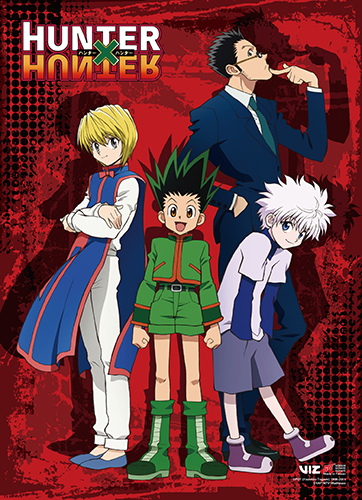 Hunter X Hunter - Key Art High End Wall Scroll, an officially licensed product in our Hunter X Hunter Wall Scroll Posters department.
