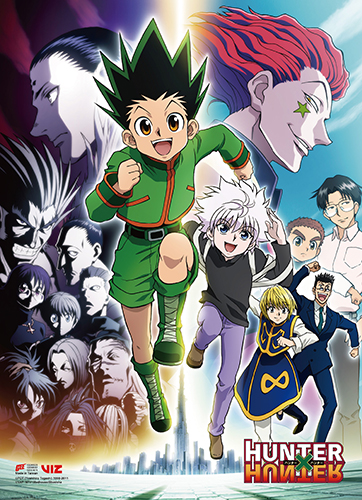 Hunter X Hunter - Key Art 2 Wall Scroll, an officially licensed product in our Hunter X Hunter Wall Scroll Posters department.