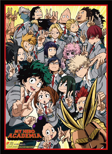 My Hero Academia - S2 Key Art High-End Wall Scroll, an officially licensed product in our My Hero Academia Wall Scroll Posters department.