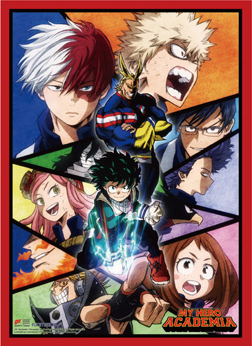 My Hero Academia - S2 Key Art 2 High-End Wall Scroll, an officially licensed product in our My Hero Academia Wall Scroll Posters department.