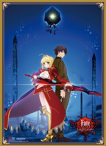 Fate/Extra Last Encore - Key Art High-End Wall Scroll, an officially licensed product in our Fate/Zero Wall Scroll Posters department.