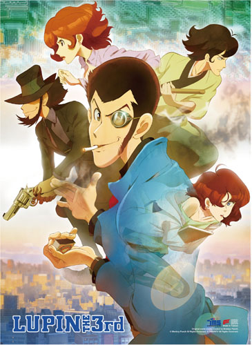 Lupin The Third - Key Art High-End Wall Scroll, an officially licensed product in our Lupin The Third Wall Scroll Posters department.