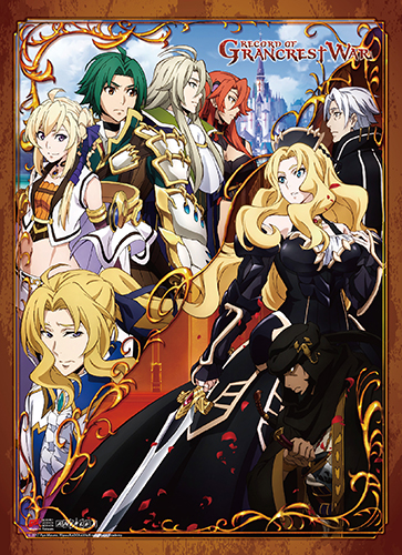 Record Of Grancrest War - Key Art High-End Wall Scroll, an officially licensed product in our Record Of Grancrest War Wall Scroll Posters department.