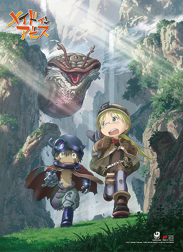 Made In Abyss - Key Art 2 High-End Wall Scroll, an officially licensed product in our Made In Abyss Wall Scroll Posters department.