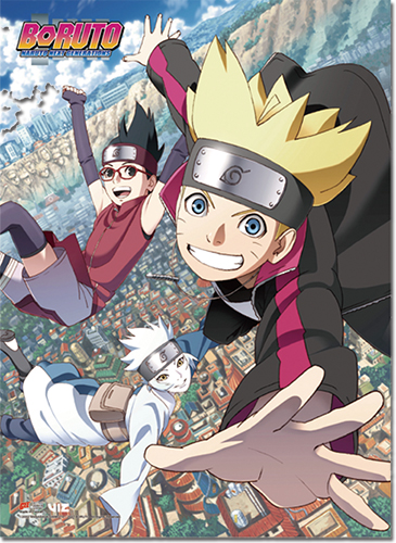 Boruto - Key Art 1 High-End Wall Scroll officially licensed Boruto Stationery product at B.A. Toys.