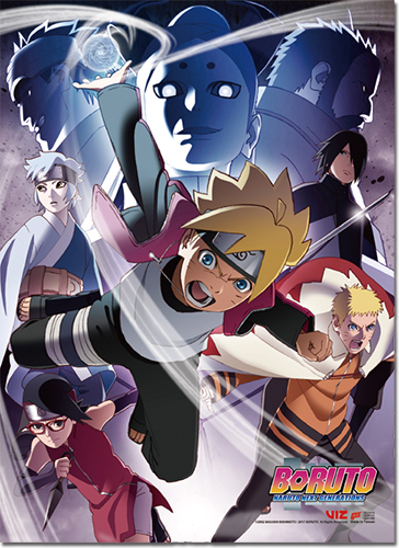 Boruto - Key Art 2 High-End Wall Scroll, an officially licensed Boruto product at B.A. Toys.