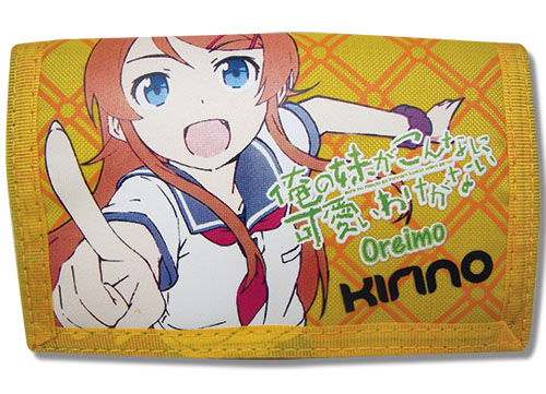 Oreimo Kirino Tri-Fold Wallet, an officially licensed product in our Oreimo Wallet & Coin Purse department.