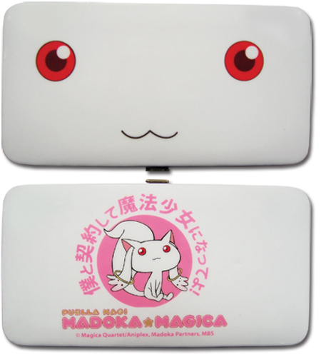 Madoka Magica Kyubey Hinge Wallet, an officially licensed product in our Madoka Magica Wallet & Coin Purse department.