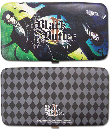 Black Butler 2 Sebastian & Claude Hinge Wallet officially licensed product at B.A. Toys.