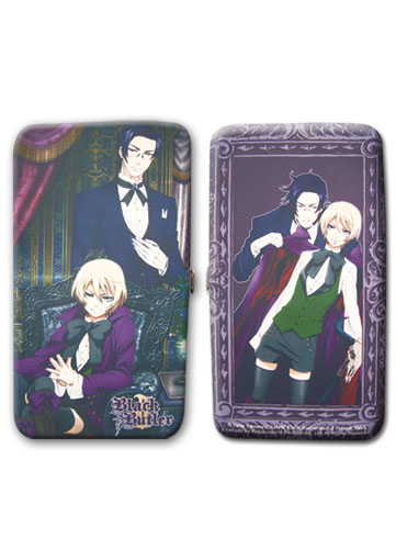 Black Butler 2 Claude & Alois Hinge Wallet, an officially licensed Black Butler Wallet & Coin Purse