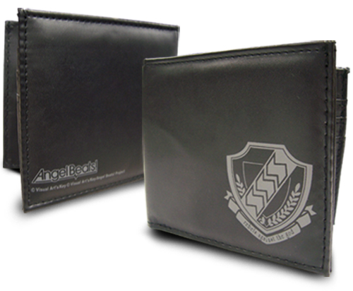 Angel Beats Logo Wallet, an officially licensed Angel Beats product at B.A. Toys.