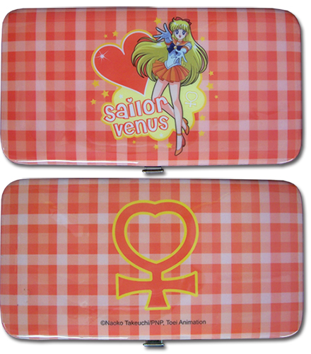 Sailormoon Sailor Venus Hinge Wallet, an officially licensed product in our Sailor Moon Wallet & Coin Purse department.