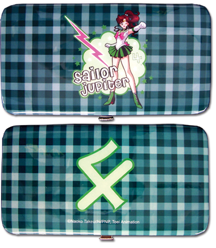 Sailormoon Sailor Jupiter Hinge Wallet officially licensed Sailor Moon Wallet & Coin Purse product at B.A. Toys.