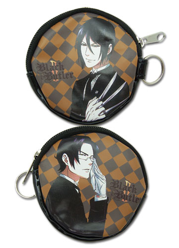Black Butler 2 Sebastian And Claude Coin Purse, an officially licensed Black Butler product at B.A. Toys.