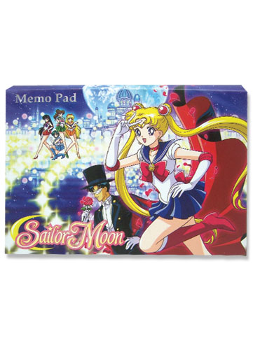 Sailormoon Group Memo Pad, an officially licensed product in our Sailor Moon Stationery department.
