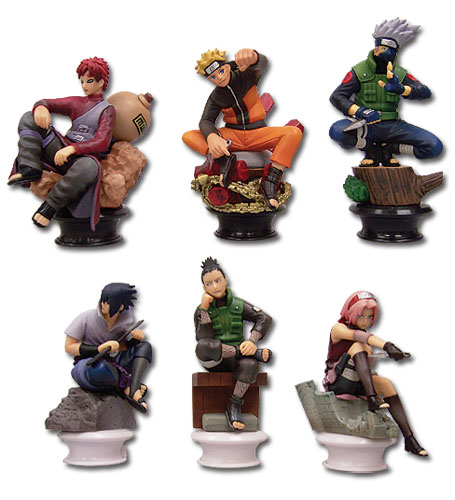 Chess Piece Collection R Naruto Shippuden Vol. 1 (6 Pcs / Set), an officially licensed Naruto Shippuden Accessory