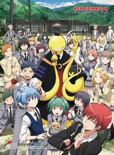Assassination Classroom - Key Art Ss Wall Scroll, an officially licensed Assassination Classroom product at B.A. Toys.