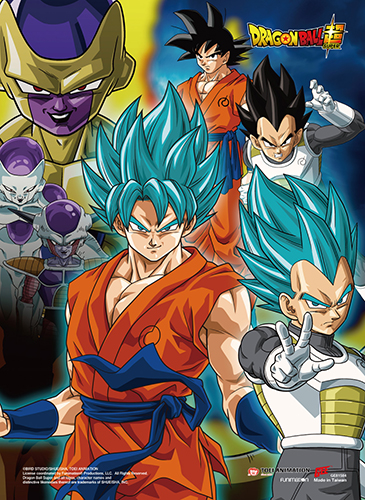 Dragon Ball Super - Resurrection F Group Ss Wall Scroll, an officially licensed product in our Dragon Ball Super Wall Scroll Posters department.