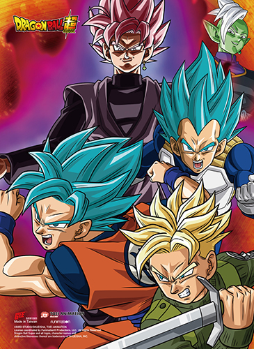 Dragon Ball Super - Future Trunks Group Ss Wall Scroll, an officially licensed product in our Dragon Ball Super Wall Scroll Posters department.
