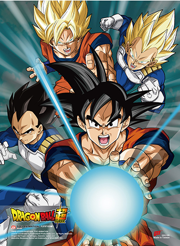 Dragon Ball Super - Battle Of Gods Group Ss Wall Scroll, an officially licensed product in our Dragon Ball Super Wall Scroll Posters department.