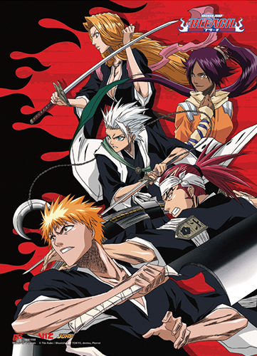 Bleach - Soul Reaper Ss Wall Scroll, an officially licensed Bleach product at B.A. Toys.