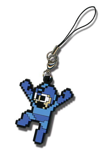 Megaman 10 Megaman Cell Phone Charm, an officially licensed Mega Man Cell Phone Accessory