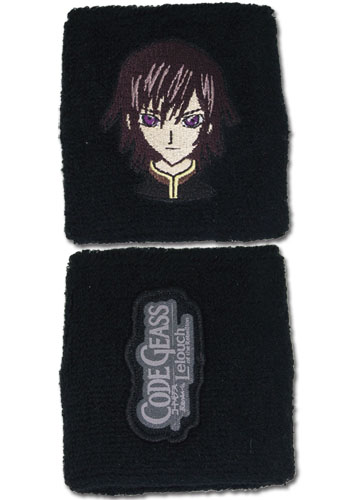 Code Geass Lelouch Wristband, an officially licensed product in our Code Geass Wristbands department.