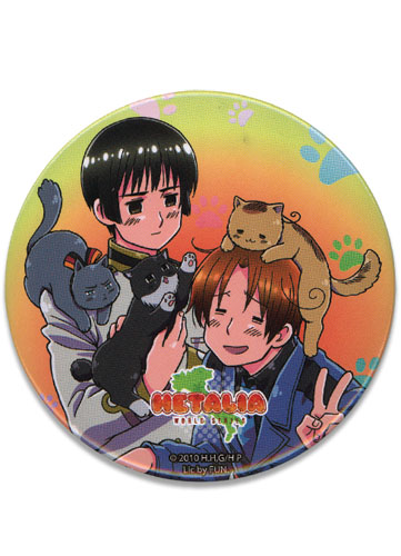 Hetalia World Series Playing With Cats 3