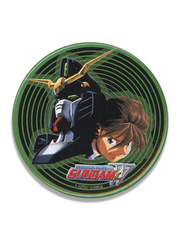 Gundam Wing Duo And Deathscythe 3' Button officially licensed Gundam Wing Buttons product at B.A. Toys.