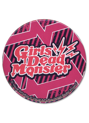 Angel Beats Girl Dead Monster 3 Button, an officially licensed Angel Beats product at B.A. Toys.