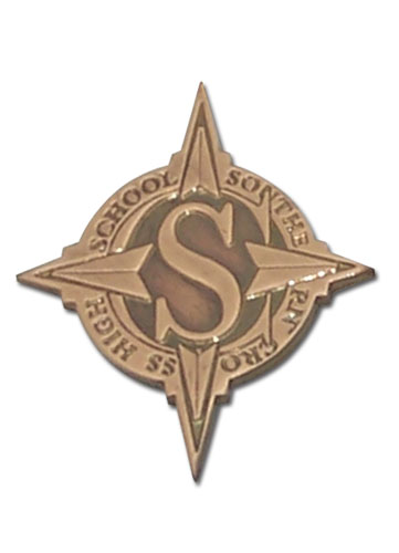 Star Driver School Crest & Emblem Pinset officially licensed Star Driver Pins & Badges product at B.A. Toys.
